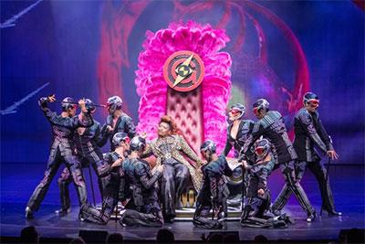 Broadway Show Onboard