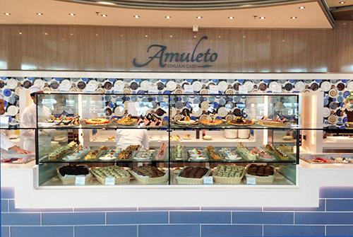 Amuleto Cafe Dawn Princess