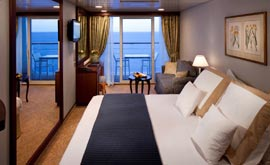 Azamara Cruises Accommodation