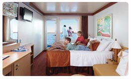Carnival Spirit Balcony Layout