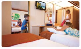 Carnival Spirit Connecting Staterooms