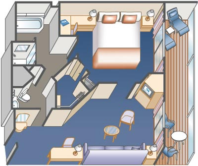 mini suite layout